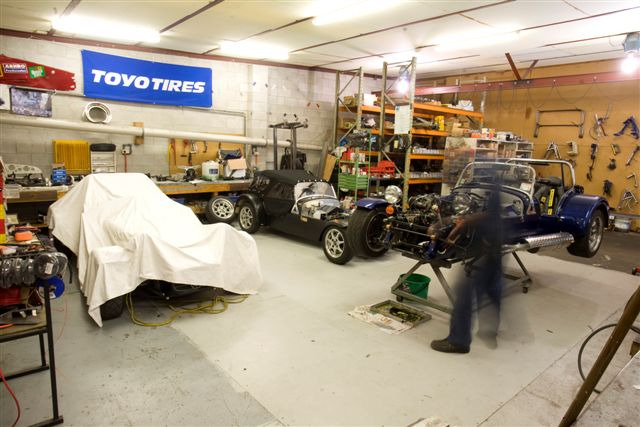Fraser Cars Workshop 39